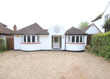 Thumbnail 4 bed detached bungalow to rent in Spinney Hill, Addlestone
