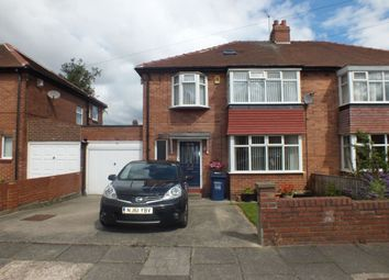 Thumbnail 4 bedroom semi-detached house to rent in Bourne Avenue, Newcastle Upon Tyne