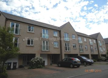 Thumbnail 5 bed town house to rent in Skipper Way, Little Paxton, St. Neots