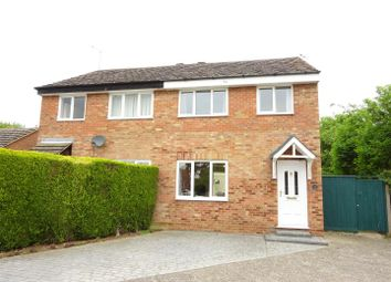 Thumbnail 3 bed semi-detached house for sale in Ludbrook Close, Needham Market, Ipswich