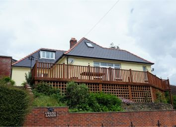 Thumbnail 4 bed detached bungalow for sale in Newbridge, Newport