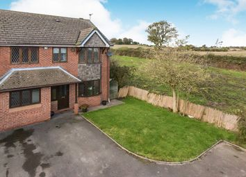 Thumbnail 4 bed detached house for sale in Willowcroft Way, Harriseahead, Stoke-On-Trent, Staffordshire