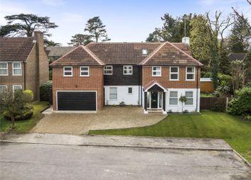 Thumbnail 5 bedroom detached house for sale in Manor Chase, Weybridge, Surrey