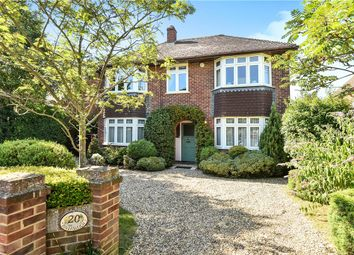 Thumbnail 4 bedroom detached house for sale in Harcourt Road, Dorney Reach, Maidenhead