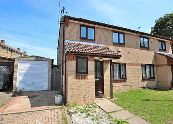 Thumbnail 3 bed semi-detached house for sale in Longland Court, Headlands, Northampton