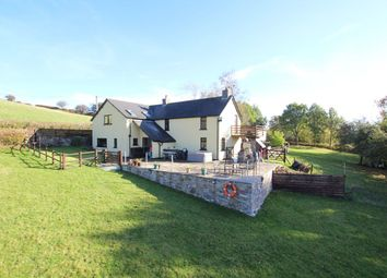 Thumbnail 4 bedroom detached house for sale in Trallong, Brecon