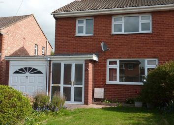Thumbnail 3 bed semi-detached house to rent in Comet Drive, Shrewsbury