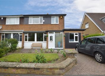 Thumbnail 3 bed semi-detached house for sale in Strickland Avenue, Leeds, West Yorkshire