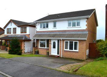Thumbnail 4 bedroom detached house for sale in Heol Ysgawen, Sketty, Swansea