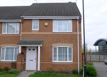 Thumbnail 3 bed end terrace house to rent in Furlong Road, Coventry