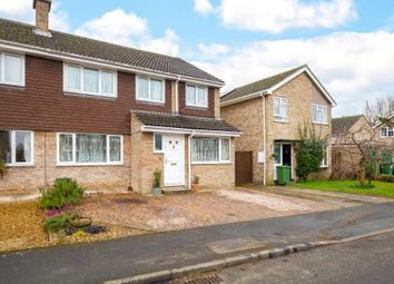 Thumbnail 5 bed semi-detached house for sale in Walnut Tree Close, Bassingbourn, Royston