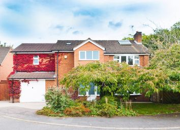 Thumbnail 5 bed detached house for sale in Rawlins Close, Woodhouse Eaves, Loughborough