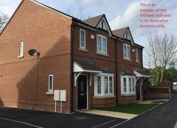 Thumbnail 2 bed town house for sale in Goodsmoor Road, Sinfin, Derby