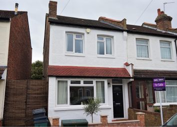 Thumbnail 2 bed end terrace house for sale in Northway Road, Croydon
