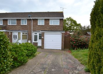 Thumbnail 3 bed end terrace house to rent in Wear Road, Worthing, West Sussex