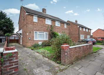 Thumbnail 2 bedroom semi-detached house for sale in Lalleford Road, Luton