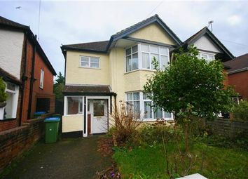 Thumbnail 3 bedroom semi-detached house for sale in Lumsden Avenue, Shirley, Southampton