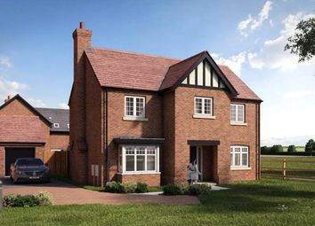 Thumbnail 4 bed detached house for sale in Hayfields, Upton Snodsbury Road, Pinvin