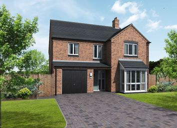 Thumbnail 5 bed detached house for sale in Coton Road, Rosliston, Swadlincote