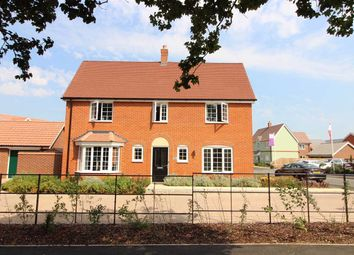 Thumbnail 4 bed detached house for sale in Abbott Way, Holbrook, Ipswich