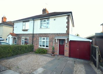 Thumbnail 2 bed semi-detached house for sale in Sandhill Drive, Enderby, Leicester