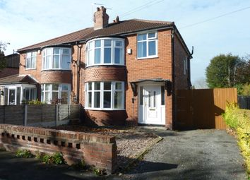 Thumbnail 3 bed semi-detached house to rent in Rutland Road, Hazel Grove, Stockport