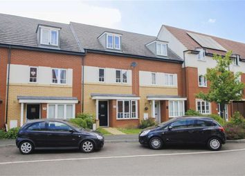 Thumbnail 4 bed town house for sale in Sakura Walk, Willen Park, Milton Keynes, Bucks