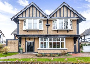 Thumbnail 4 bed detached house for sale in Abbey Road, Enfield