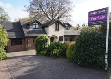 Thumbnail 4 bed detached house for sale in Hood Lane North, Warrington