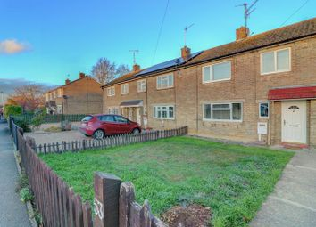 Thumbnail 3 bed terraced house for sale in Church Road, Wittering, Peterborough