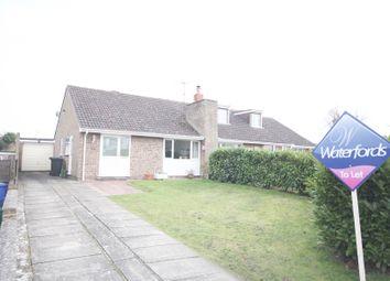 Thumbnail 2 bed semi-detached bungalow to rent in Aylesham Way, Yateley