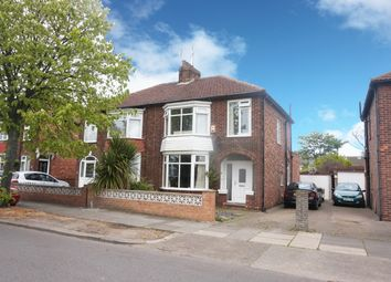 Thumbnail 3 bed semi-detached house for sale in Ings Road, Redcar