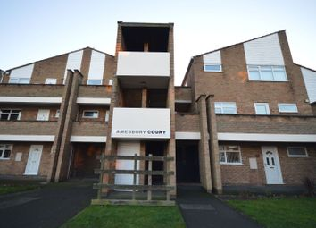 Thumbnail 1 bedroom flat for sale in Amesbury Court, Wigston, Leicester