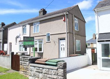 Thumbnail 2 bed semi-detached house for sale in Queens Road, West Park, Plymouth