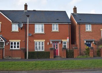Thumbnail 3 bed end terrace house to rent in Exmoor Close, Tiverton