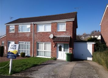 Thumbnail 3 bedroom semi-detached house for sale in Pathfields, Torrington