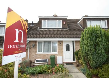 Thumbnail 2 bed terraced house to rent in Speedwell Crescent, Eggbuckland, Plymouth