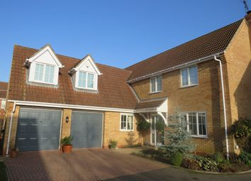 Thumbnail 5 bed detached house for sale in Ingamells Drive, Saxilby, Lincoln