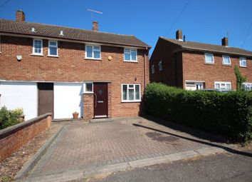 Thumbnail 3 bed end terrace house for sale in Carteret Road, Luton