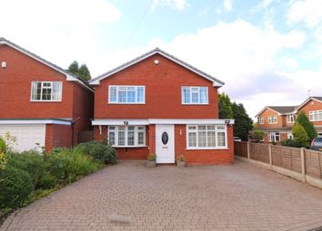Thumbnail 4 bed detached house to rent in Reid Close, Denton, Manchester