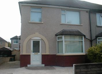 Thumbnail 3 bed semi-detached house to rent in Arnside Crescent, Morecambe