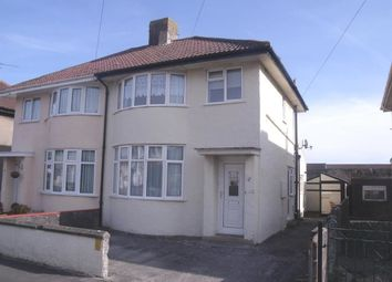 Thumbnail 1 bedroom flat to rent in Saville Road, Weston-Super-Mare
