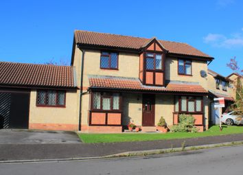 Thumbnail 4 bed detached house for sale in Warrilow Close, Weston-Super-Mare