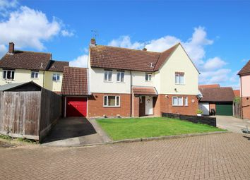 Thumbnail 3 bed semi-detached house for sale in Rana Court, Braintree, Essex