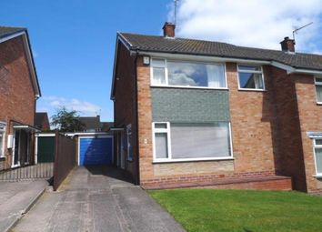 Thumbnail 3 bed semi-detached house for sale in Marlowe Road, Stafford