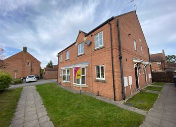 Thumbnail 1 bed end terrace house for sale in Oak Way, Selby