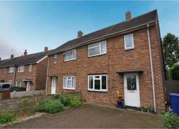 Thumbnail 4 bed semi-detached house for sale in Hall Green Avenue, Stretton