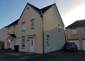 Thumbnail 3 bed end terrace house for sale in Havisham Drive, Swindon