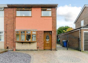 Thumbnail 3 bed semi-detached house for sale in School Field, Bamber Bridge, Preston