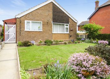Thumbnail 3 bed detached bungalow for sale in Church Road, Kessingland, Lowestoft